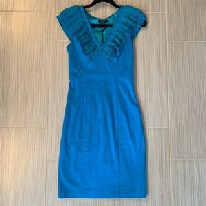 NWT Ted baker micropleated v-neck dress